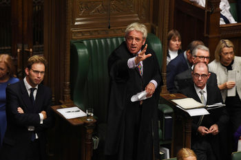 Председателят на Камарата на общините спря втори опит за вот по сделката за Брекзит