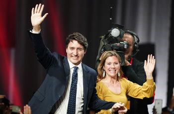 Трюдо печели изборите в Канада, но вероятно ще е без мнозинство