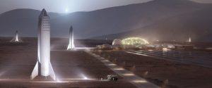 Мъск за града на Марс: необходими са 20 години и 1000 кораба Starship