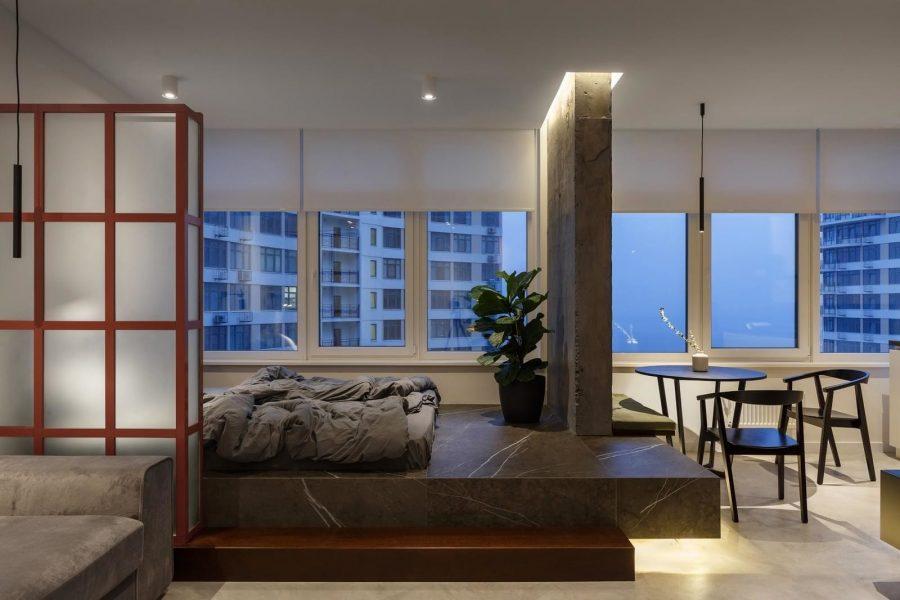 Апартамент с изглед към морето в Одеса [39 м²]