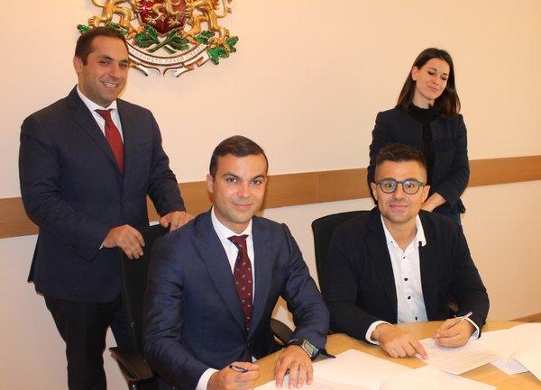 """Движение """"Национална кауза"""" получи подкрепата на Министерството на икономиката и ИАНМСП"""