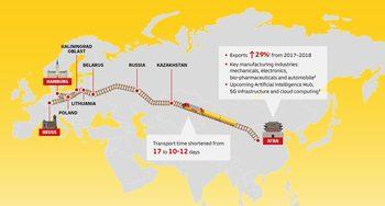 DHL пусна бързата железопътна линия между Китай и Германия