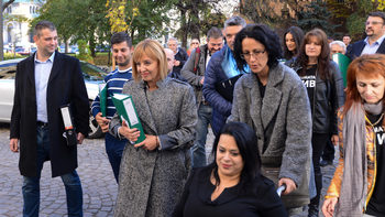 Мая Манолова внесе жалба за оспорване на изборния резулт в София