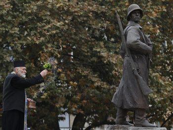 Снимка на деня: Паметникът на Девета пехотна плевенска дивизия