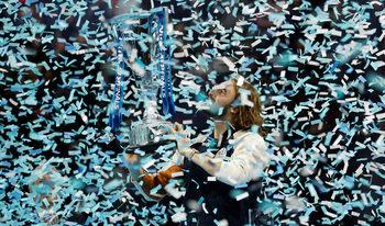 Моментите на Стефанос Циципас в големия финал в Лондон