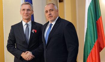 Единството на Европа и Северна Америка е по-важно от всякога, каза Борисов на шефа на НАТО