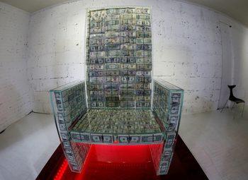 Снимка на деня: Да седиш върху 1 милион долара
