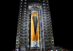 """NASA разкри """"най-мощната ракета построявана някога"""""""