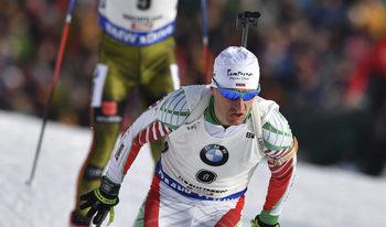 Красимир Анев затвърди силното представяне на биатлонистите с 15-о място на 20 км