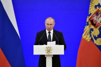 """Путин нарече позицията на ЕС за пакта Рибентроп-Молотов """"безпардонна лъжа"""""""