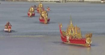 Финалното пътуване на тайландския крал към трона
