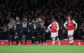 """""""Сити"""" си върна самочувствието с категоричен успех над """"Арсенал"""""""
