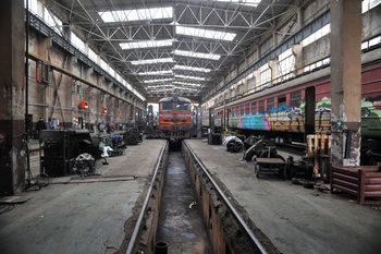 Северният център на железницата