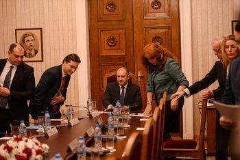 Румен Радев призова за актуализация на избирателните списъци