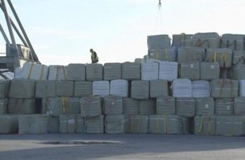 25 контейнера незаконно внесен боклук е открит на Пристанище Варна-Запад.