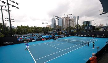 Как мръсният въздух се отразява на тенисистите по време на Australian Open