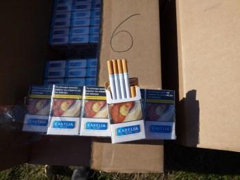 37 500 кутии с цигари без бандерол иззеха служители на ОДМВР – Плевен