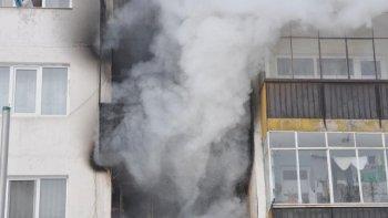 Възрастна жена пострада при пожар в жилището си в Плевен