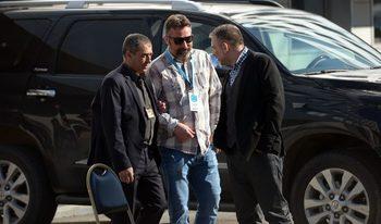 Снимка на деня: Слави Трифонов с втори опит да учреди партия