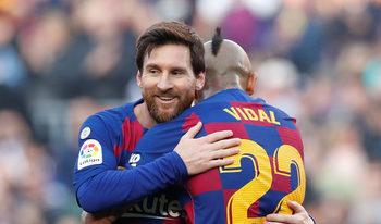 "Меси вдъхнови ""Барселона"" преди ""класико"" с четири гола при разгром"