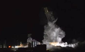 Прототип на ракета на Мъск отново избухна