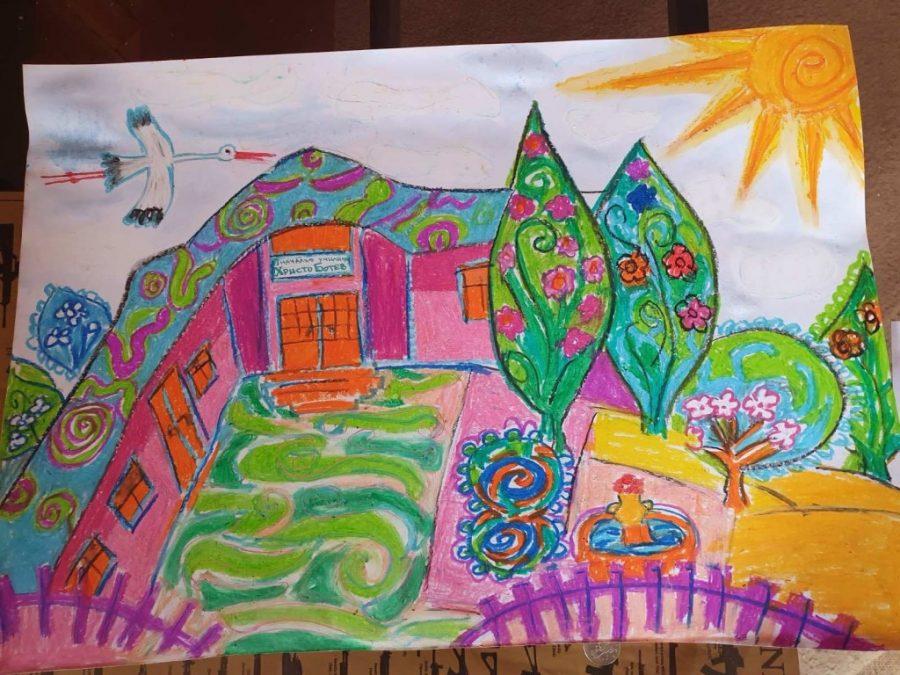 "НУ ""Христо Ботев"" – Плевен проведе конкурс за рисунка ""Моето училище през пролетта"""