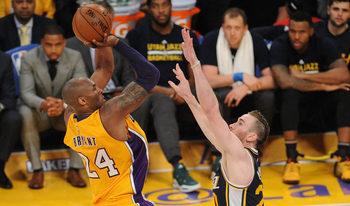 Четири години от невероятното сбогуване на Кобе Брайънт с НБА