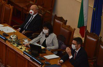 БСП иска парламентарен контрол върху правителството и в извънредното положение
