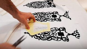 Как се шият маски от плат, купуван за модния подиум