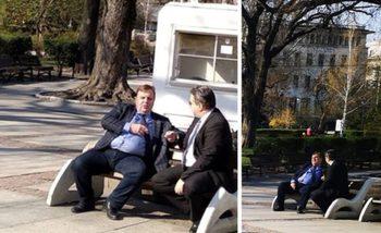 Борисов за снимката на Каракачанов в парка: Да го глобят