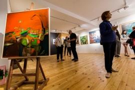"""Галерия """"Етерна"""" се събуди за живот с изложбата на Яна Костадинова """"Линия на пресичане"""""""