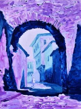 Родопските сънища на Костадин Жиков може да видите в галерия Възраждане в Стария град