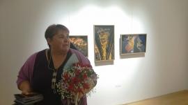 Соня Станкова посрещна десетки приятели и общественици на изложбата си в ГХГ