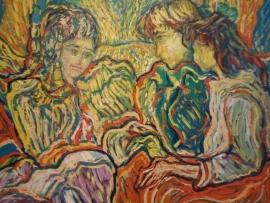 Димитър Маринов изненада приятелите си с живописна изложба след десетилетия мълчание