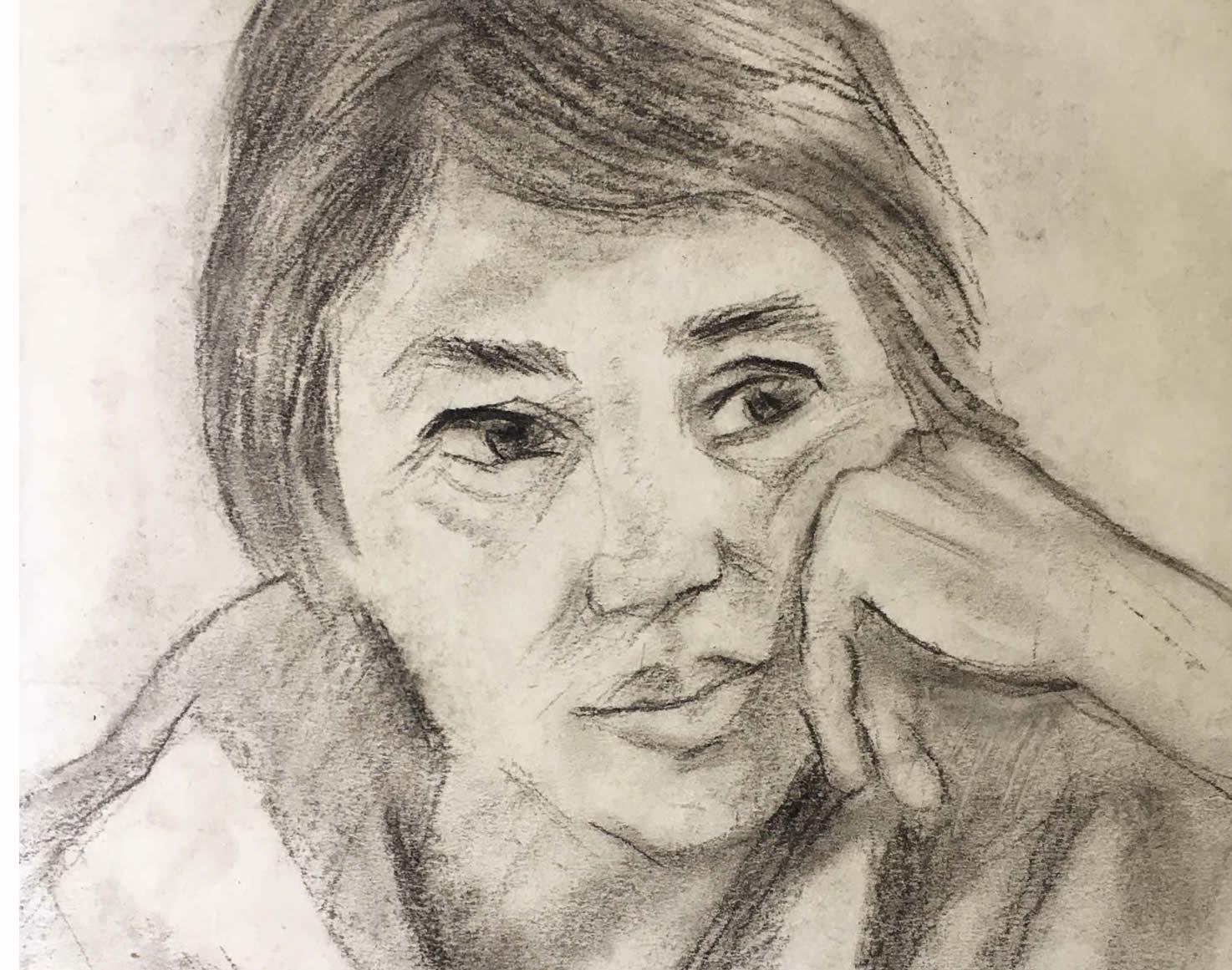 Елка Найденова – иконата на графиката и портретите от 70-те