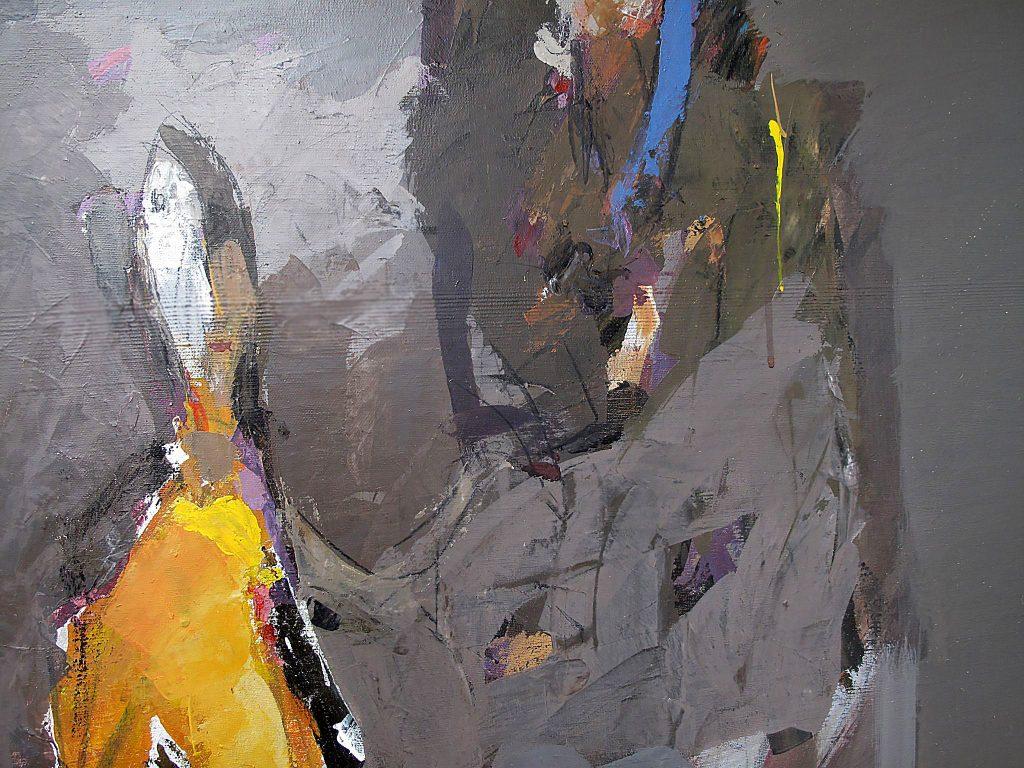 Иван Обретенов за новата си изложба: Художникът е сам воин
