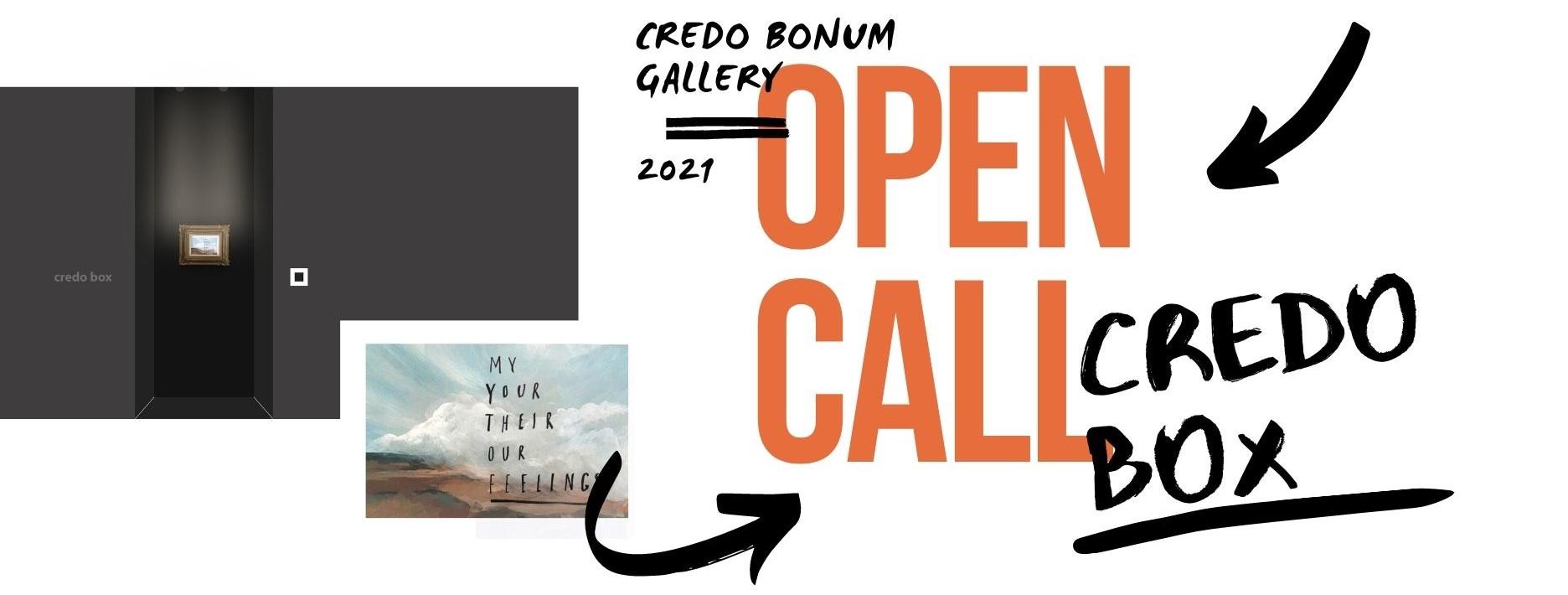 Open Call CREDO BOX 2021