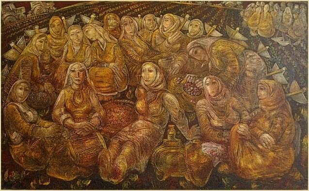 Димитър Казаков -Нерон Триптих Стражишки мотиви – ХГ- Стражица
