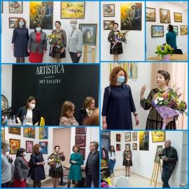 Съдия от Девин откри изложба в Пловдив