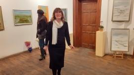 """В галерия """"Възраждане"""" е открита изложба – живопис със заглавие """"Годишните времена"""" на Емилия Арабаджиева"""