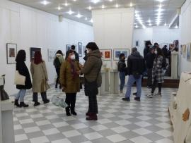 """Ученици от 8 до 12 клас показаха съвременните """"Измерения"""" в галерия Ромфея"""