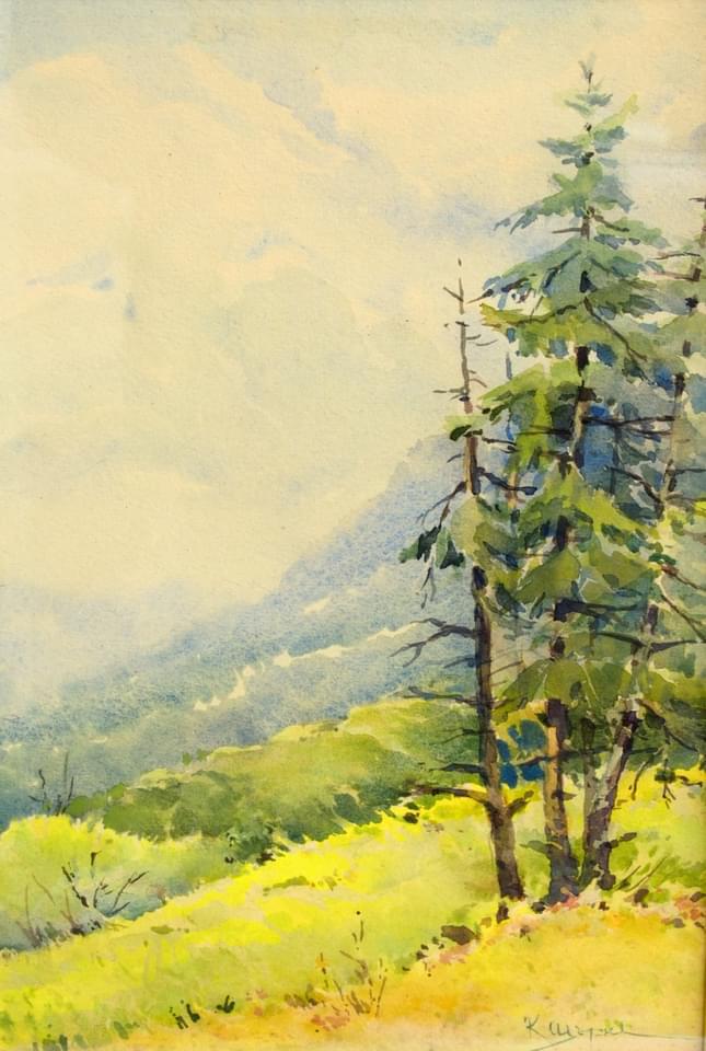 Константин Щъркелов – Цикъл 5 пейзажи