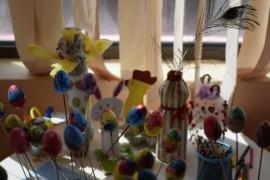 Деца твориха във Великденска екоработилница