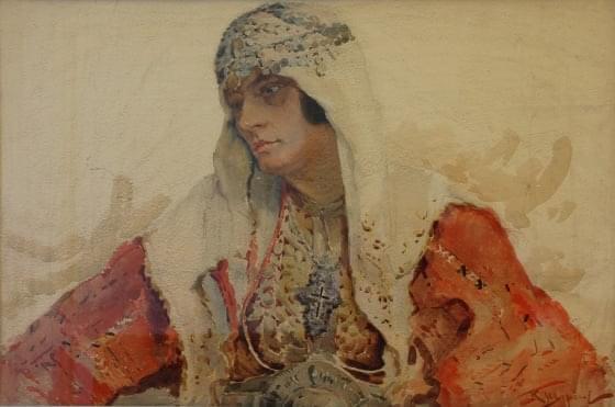 Портрет от Константин Щъркелов