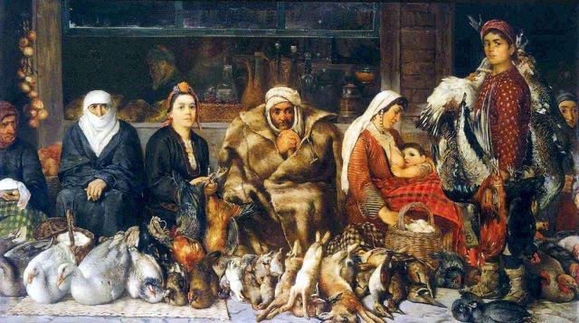 Иван Мърквичка – Пловдивски пазар