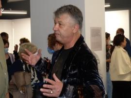 Графикът Людмил Георгиев впечатли Пловдив с дебютната си изложба в града