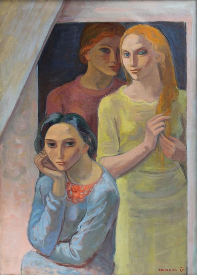 Вера Недкова-(16.11.1908-07.07.1996)